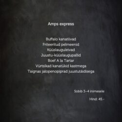 Amps express (3-4 inimest)